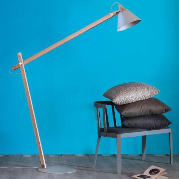 Lampada da terra Slope - design Skrivo - Miniforms