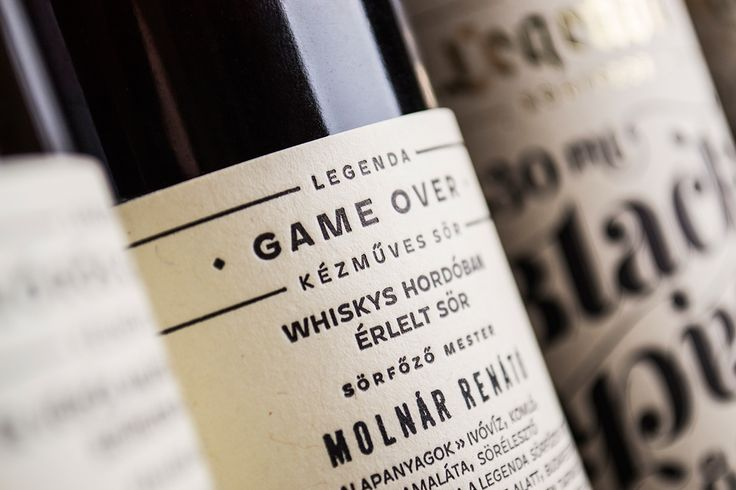 Legenda brewery_redesign on Behance