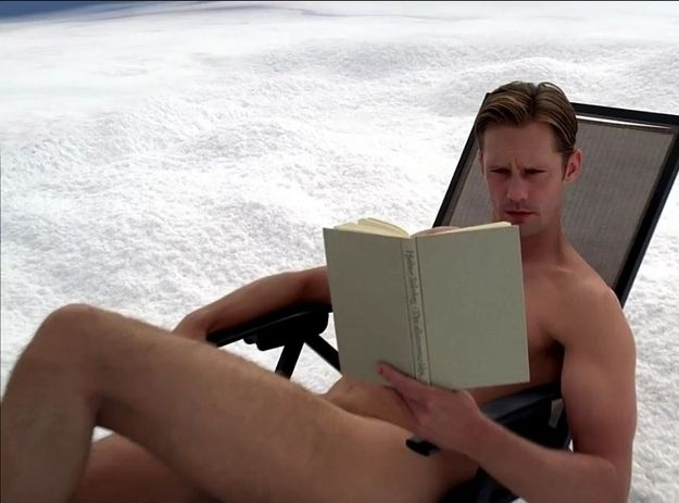 All you really need to know is that Eric was reading naked on a frozen mountain in Sweden.