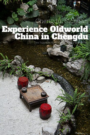 Try tea houses and discover the local monasteries of Chengdu, Sichuan, China for a taste of oldworld China.
