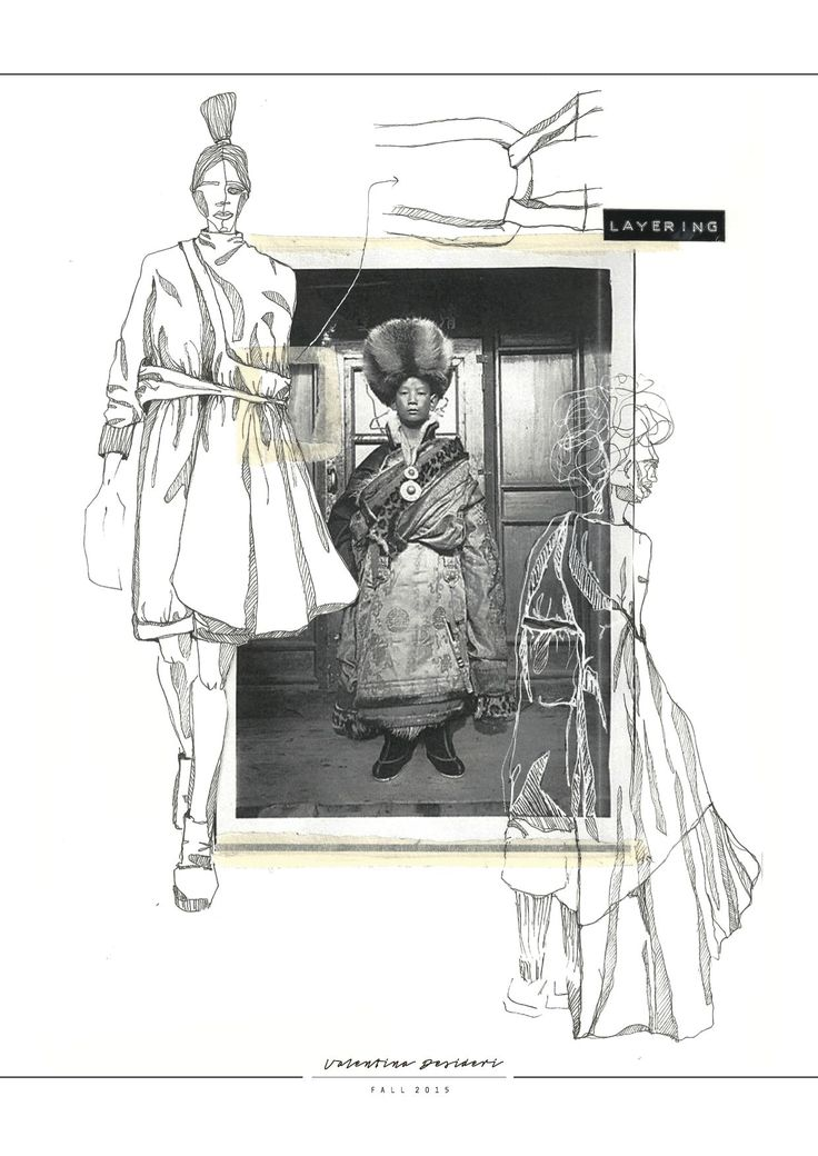 Fashion Sketchbook - fashion illustrations; creative process; fashion portfolio // Valentina Desideri