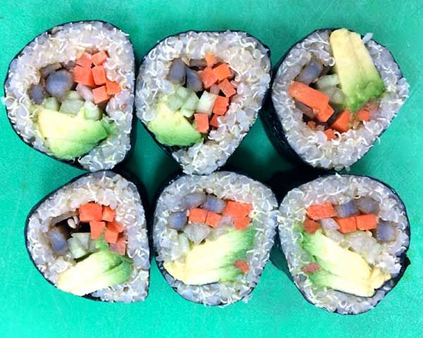 You'll LOVE This Super-Healthy Sushi Makeover