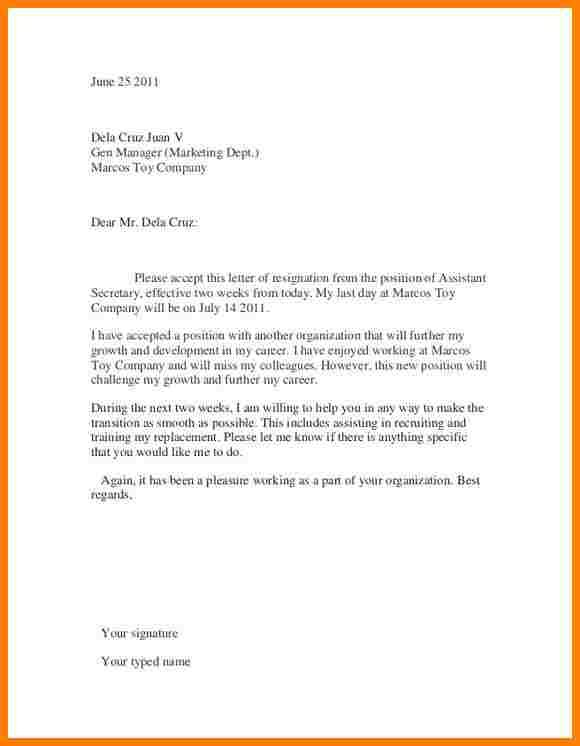 Oltre 25 fantastiche idee su Resignation sample su Pinterest - formal interview letter