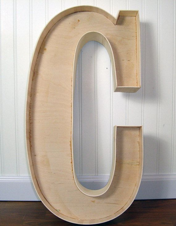 24quot inch unfinished serif marquee wood letters With 24 inch unfinished wood letters