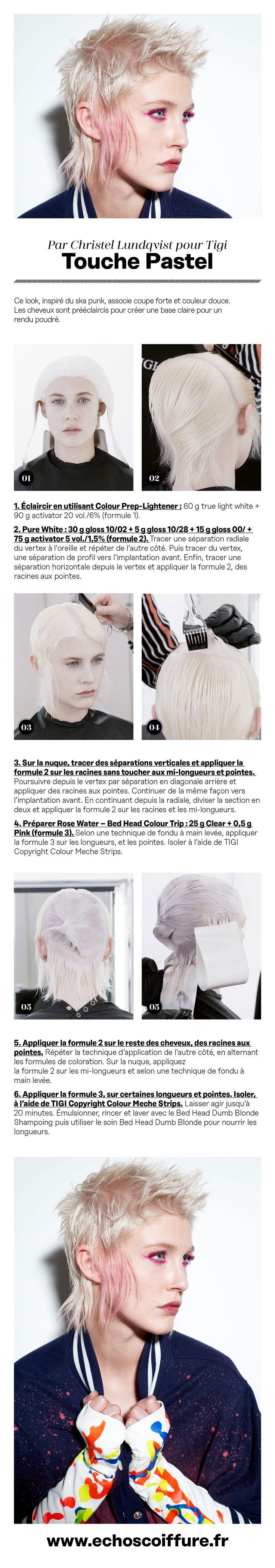 #Tuto #coloration #Cheveux #hair #coiffeur #coiffure #Schwarzkopf