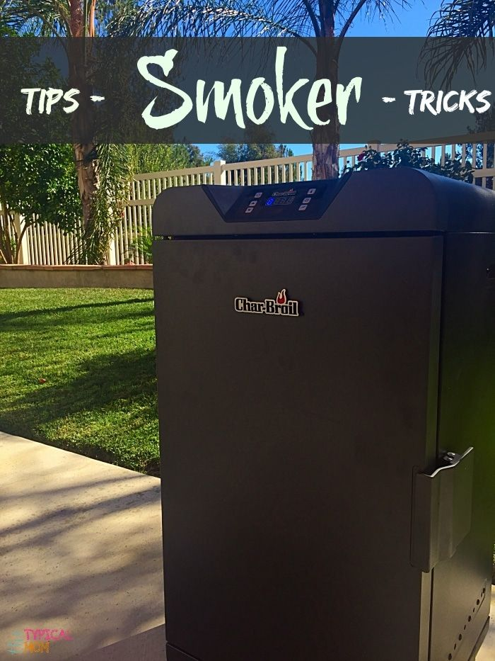 Easy electric smoker recipes are here. Tips on how to use an electric smoker and easy marinades for fish, beef, and chicken too. via @thetypicalmom