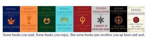 Outlander book order