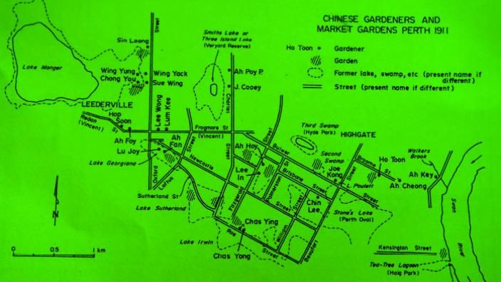 Chinese Market Gardens and and Gardners in Perth – Leederville area 1911
