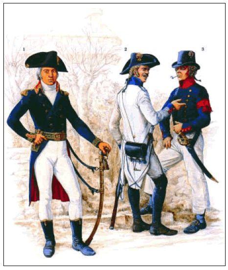uniformi francesi guerra di indipendenza americana - Cerca con Google
