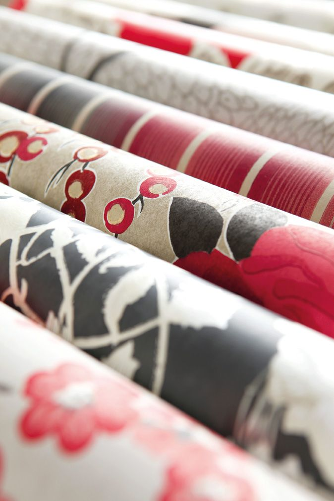 A range of wallpapers from Harlequin's Boutique collection.
