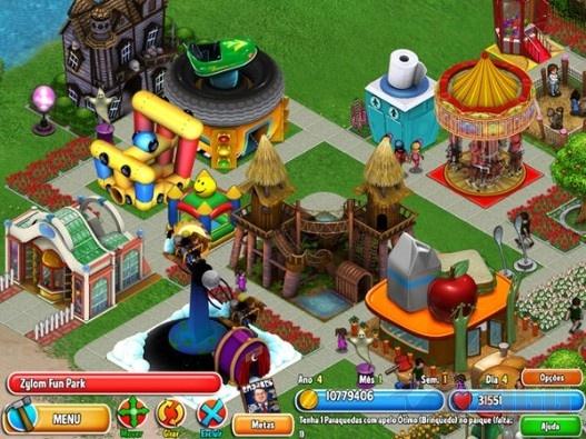 Dream Builder - Amusement Park Download - Construa seu próprio parque de diversões.