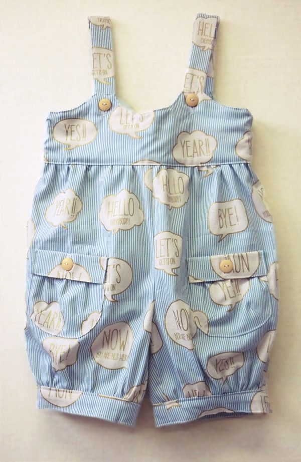 男の子用サロペット*ボタン付けもミシンでらくらくで世界に一つだけのオリジナルです^^ Overalls for boys. Only-one original clothing in the world  Easy button stitching with sewing machine. #overall forkids #sewing #handmade #JAGUAR