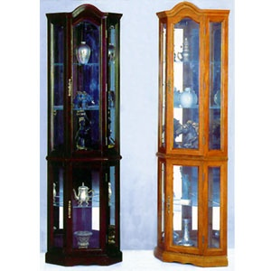 Elegant Pulaski Corner Curio Cabinet Costco