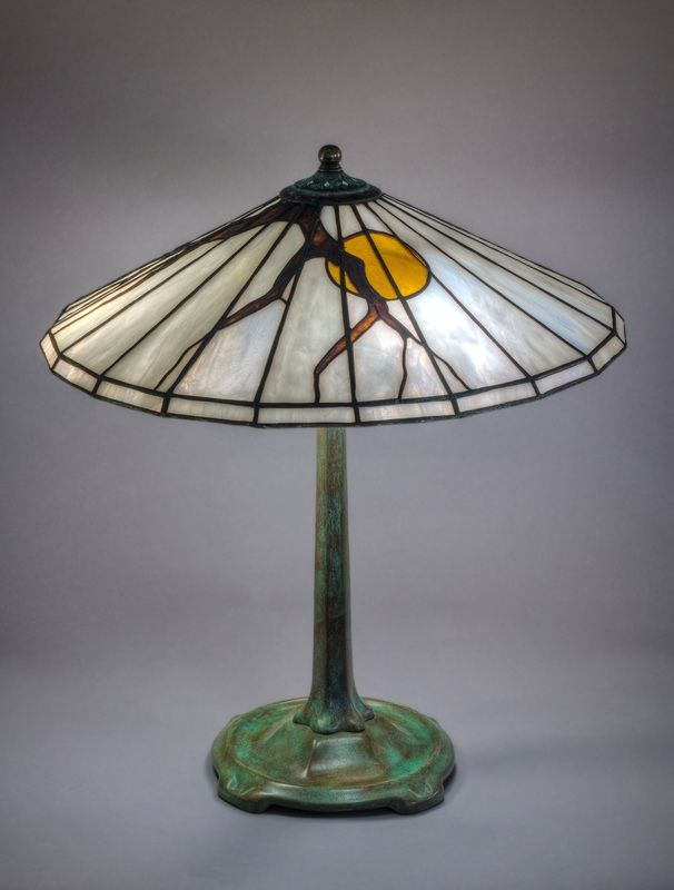 Stained glass lamps and andons original designs
