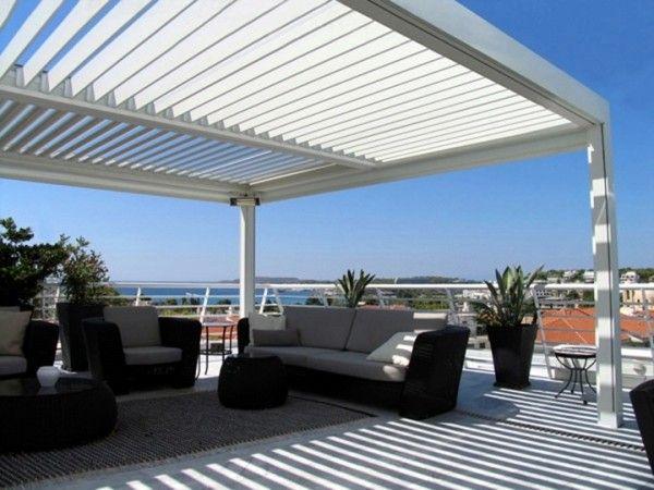 Pergolas de aluminio para terrazas