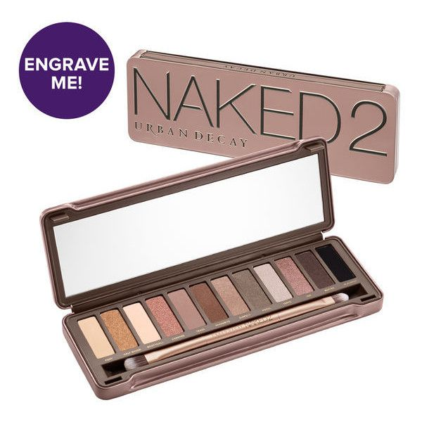 Naked2 Eyeshadow Palette ($54) ❤ liked on Polyvore featuring beauty products, makeup, eye makeup, eyeshadow, creamy eyeshadow, urban decay, urban decay eye shadow, urban decay eye makeup and palette eyeshadow