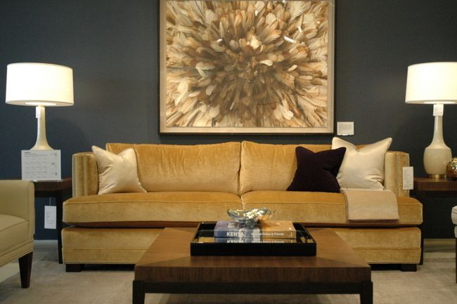 Top 25 Ideas About Gold Couch On Pinterest