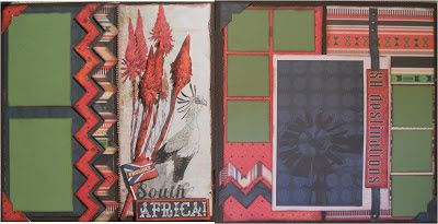 Scrap Collections Design Team: NATURAL BEAUTY:  Class Note: SA desitinations