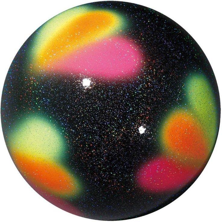 Other Gymnastics 16257: Sasaki Rg Rhythmic Gymnastics Ball Stardust Dia:18.5Cm M-206 Black Yellow -> BUY IT NOW ONLY: $77 on eBay!