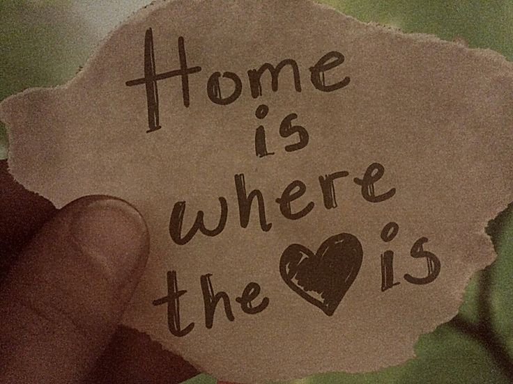 Home is where the heart is♡