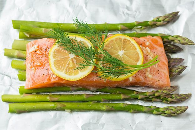 Salmon and Asparagus in Foil | Cooking Classy