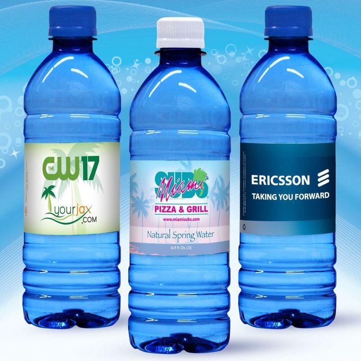 water bottle logos