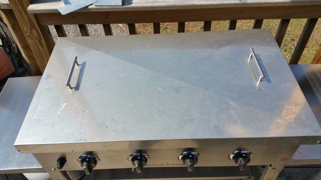 Stainless Cover For Blackstone Griddle The Bbq Brethren