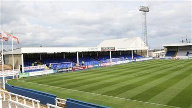 Hartlepool United FC - Victoria Park - 7.856 tilskurer