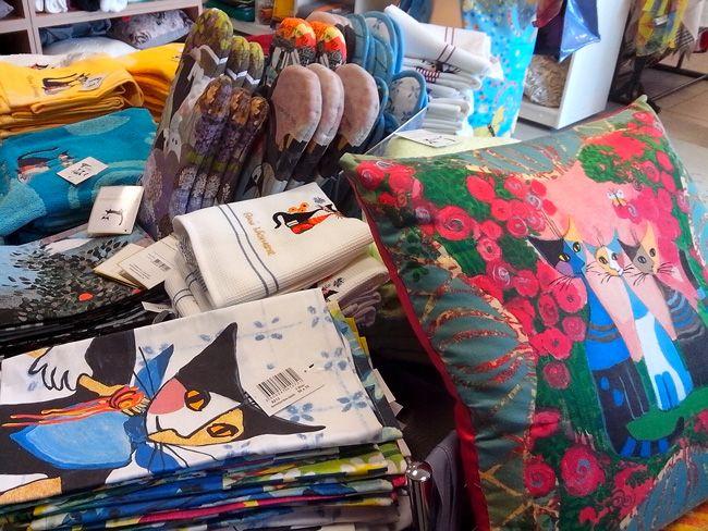 Les accessoires et linge de maison de Rosina Wachtmeister, en vente dans les magasins Bleu des Vosges