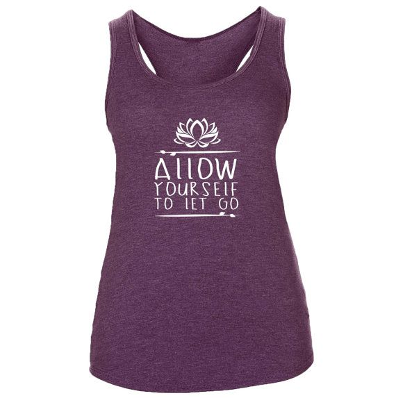 Supersoft  Triblend Women's Yoga Allow Yourself To