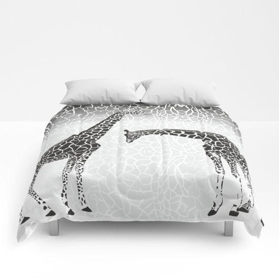 Giraffe patterns for wallpaper Comforters