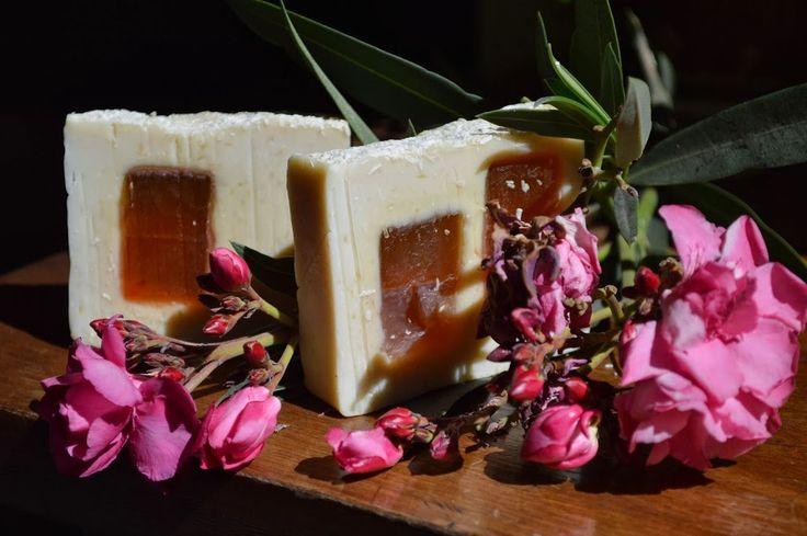 Jabón Exfoliante Natural de Coco