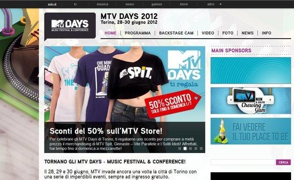 Mtv Days 2012