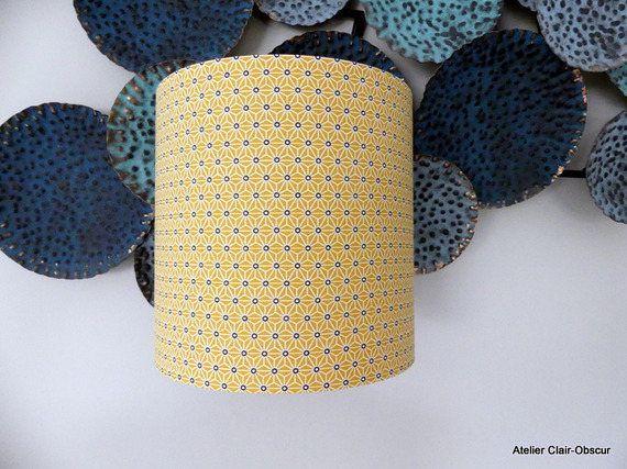 Le chouchou de ma boutique https://www.etsy.com/fr/listing/534045560/applique-murale-pm-tissu-graphique-jaune