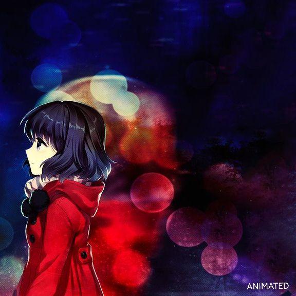 Colorful Girl Dark Red Wallpaper Colorful Girl Red Wallpaper Colorful anime movie wallpaper