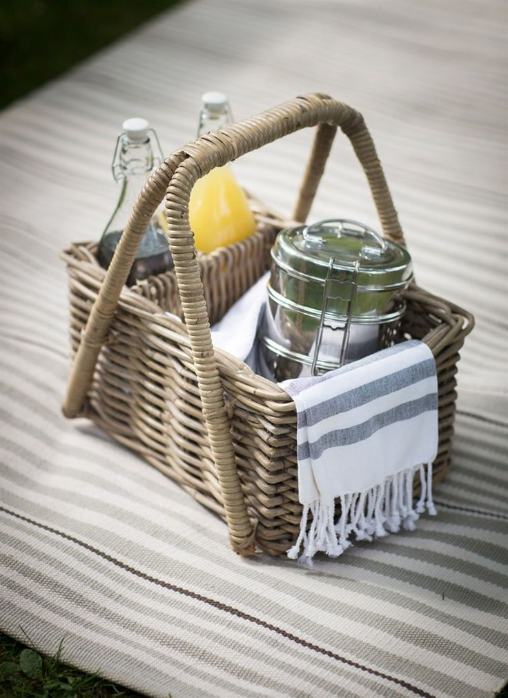 Fill up our Bembridge Picnic Basket with goodies and enjoy a picnic outdoors