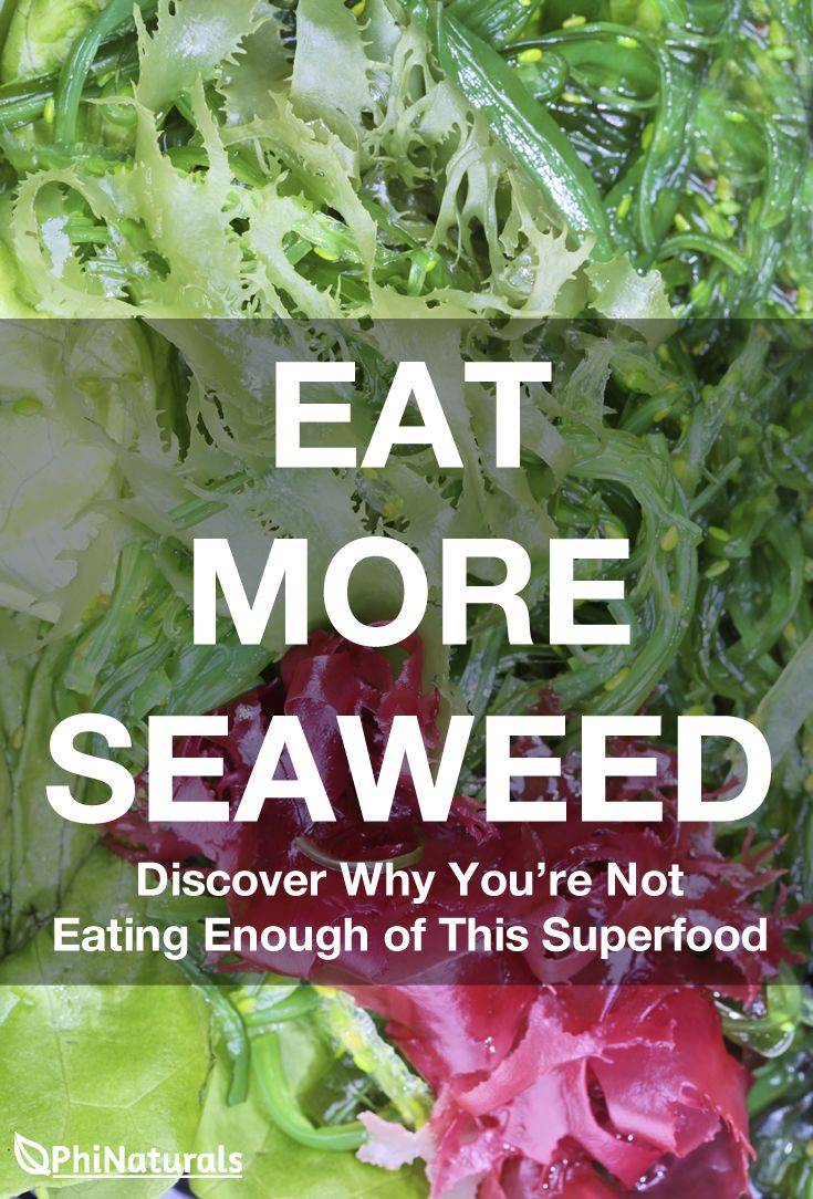 The iodine content of seaweed alone makes it one of the most important foods to add to your diet. Iodine deficiency is dangerous, so make sure you start eating more seaweed!