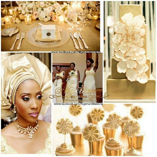 Brown And Gold Wedding Ideas: 1000+ Images About Nigerian Wedding Color Schemes & Themes