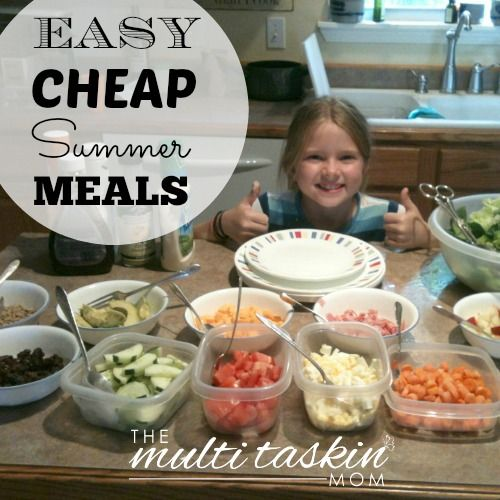 Cheap And Easy Meals For Summer Healthy Lunches Kid