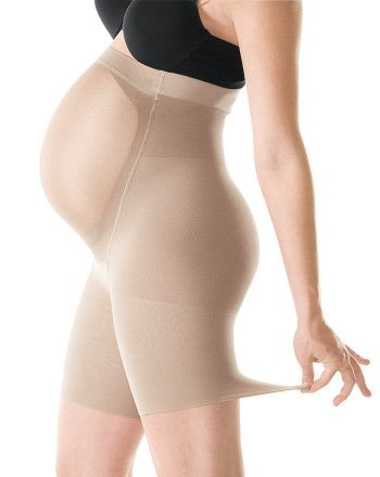 Power Mama Spanx. Really comfortable belly support, and booty shaping :) Plus, it grows with you, so choose your pre-pregnancy size.