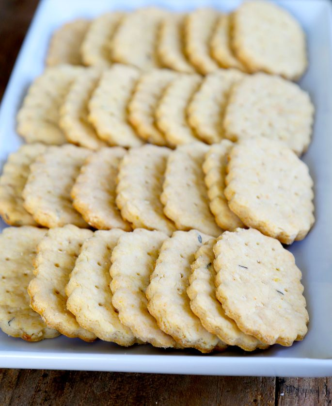 """Gluten Free """"Chicken in a Biskit"""" Crackers — plus the secrets to rolling out cookie and cracker dough!"""