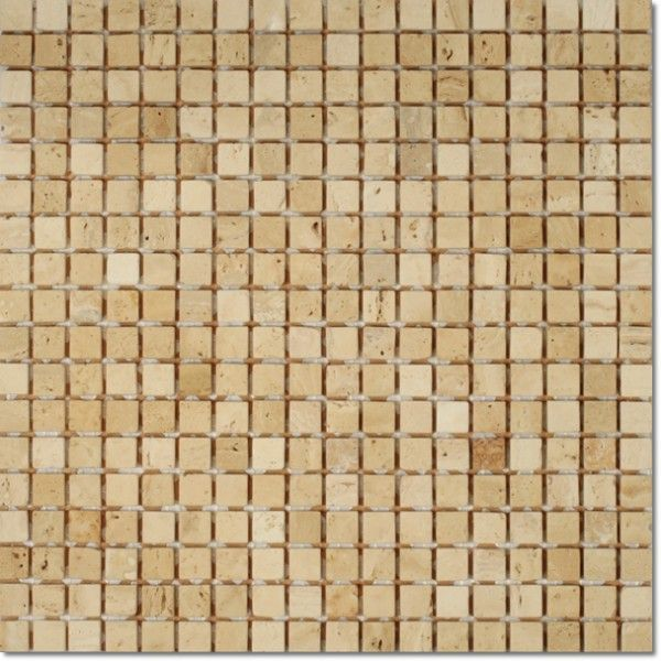 Dell'Arte - mozaiki dekoracyjne Travertino Florance 15 (plaster 30x30)