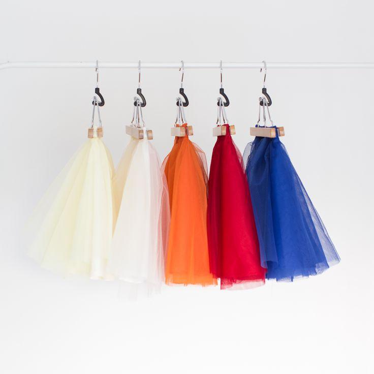 Tulle skirts  www.tras.hu #trasdesign #tulleskirt