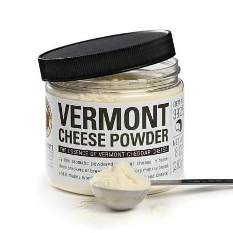 Just want to say this is the most awesome stuff on popcorn ever! - Vermont Cheese Powder - 8 oz. Jar