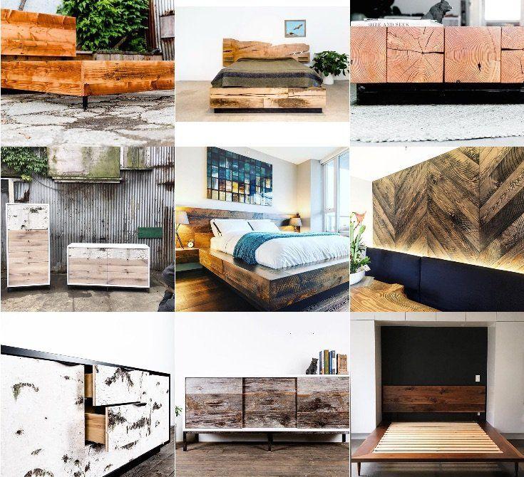 Instagram Roundup - top custom furniture picks #customfurniture #wood