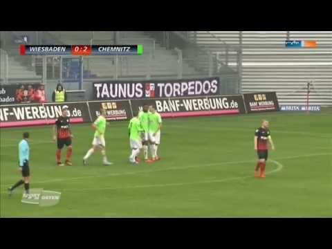SV Wehen Wiesbaden vs Chemnitz - http://www.footballreplay.net/football/2016/11/05/sv-wehen-wiesbaden-vs-chemnitz/
