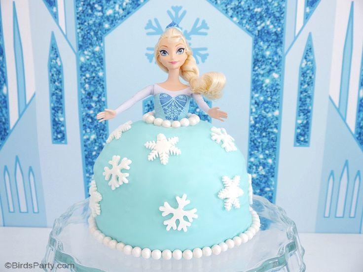 Elsa Doll Cake Decorations : Best 25+ Frozen doll cake ideas on Pinterest Elsa doll ...