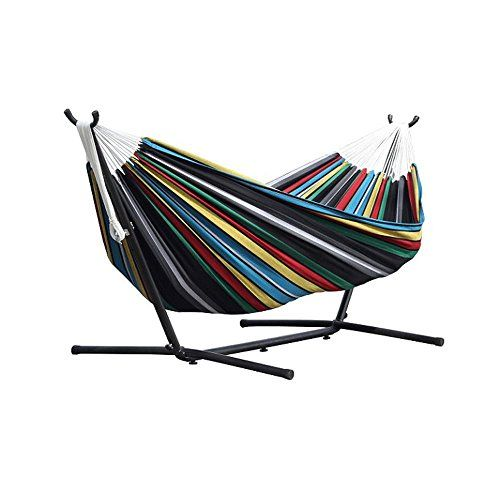 #Vivere #Double #Hammock with #Space #Saving #Steel #Stand, #Denim #Vivere #double #hammock holds two people Cotton fabric for indoor or outdoor comfort Included 9-foot #steel #stand holds up to 450 pounds https://homeandgarden.boutiquecloset.com/product/vivere-double-hammock-with-space-saving-steel-stand-denim/