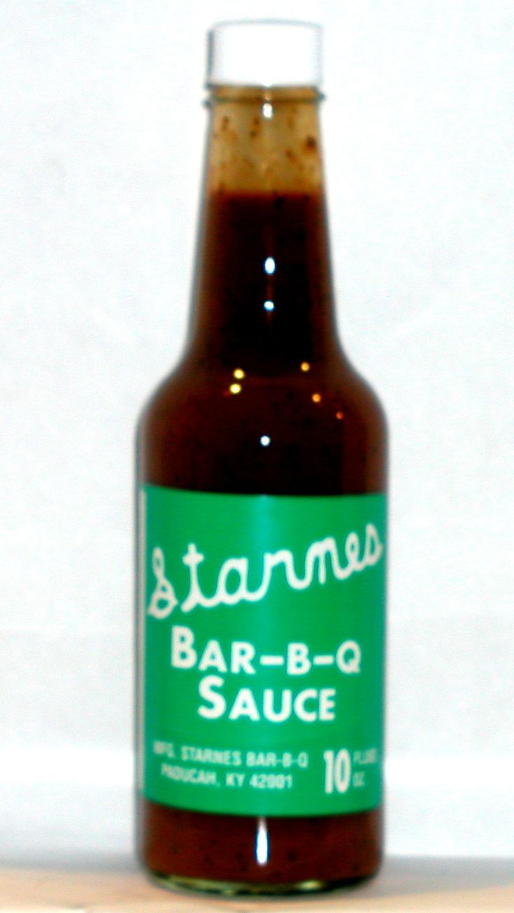 Humm....must try this: STARNES BBQ SAUCE - 3 TBSP Ketchup (Heinz); 4 TBSP Apple Cider Vinegar (1/4 cup); 1 TBSP water; 1 Tsp Black Pepper (fine ground); ¼ Tsp White pepper; 1 Tsp Cayenne (red) pepper; 2 tsp Tabasco or other red pepper sauce - All measures are level measurements. Mix all ingredients in saucepan and bring to simmer. Add bit of flour to thicken. Transfer to bottle or jar and refrigerate for long storage.