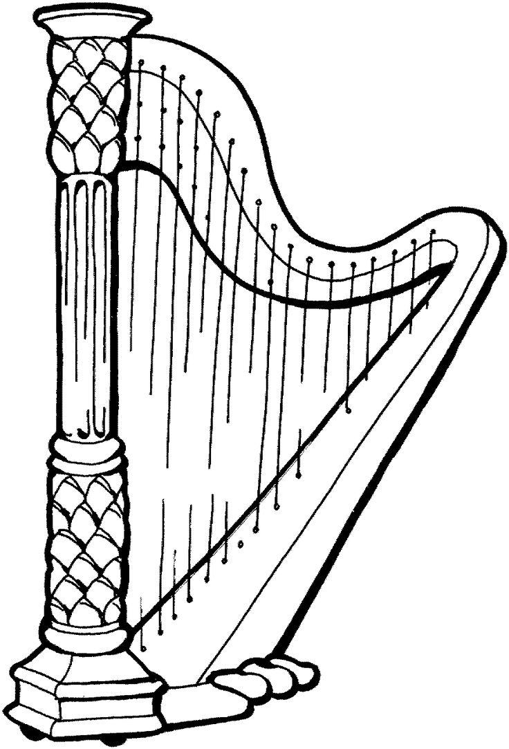 Ms de 25 ideas increbles sobre Dibujos de instrumentos musicales